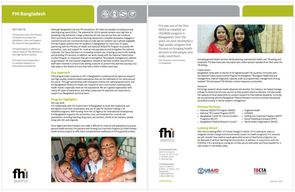FHI - Reproductive Health – SRHR